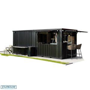 Demontabele buitenbar container 8 x 2 meter 26ft